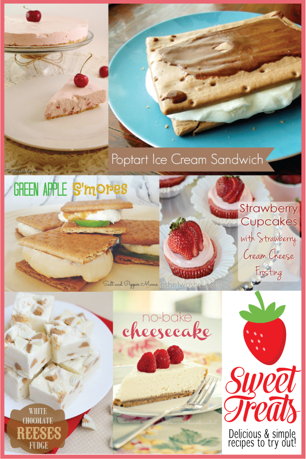 Simple & delicious dessert recipes featured on www.thirtyhandmadedays.com