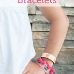 Pretty Preppy Bracelets from the Polka Dot Chair