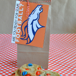 Football Team Cookies + Printable