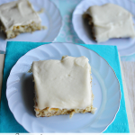 Simple but Delicious Frosted Banana Squares