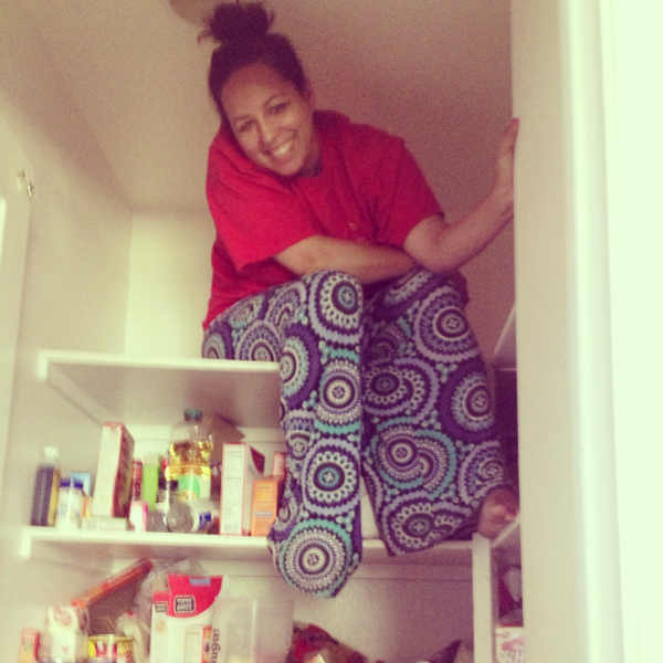 Cleaning out the pantry