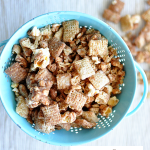 Movie Theater Puppy Chow Recipe with Snickers