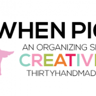 When Pigs Fly – an organizing series; the Pantry