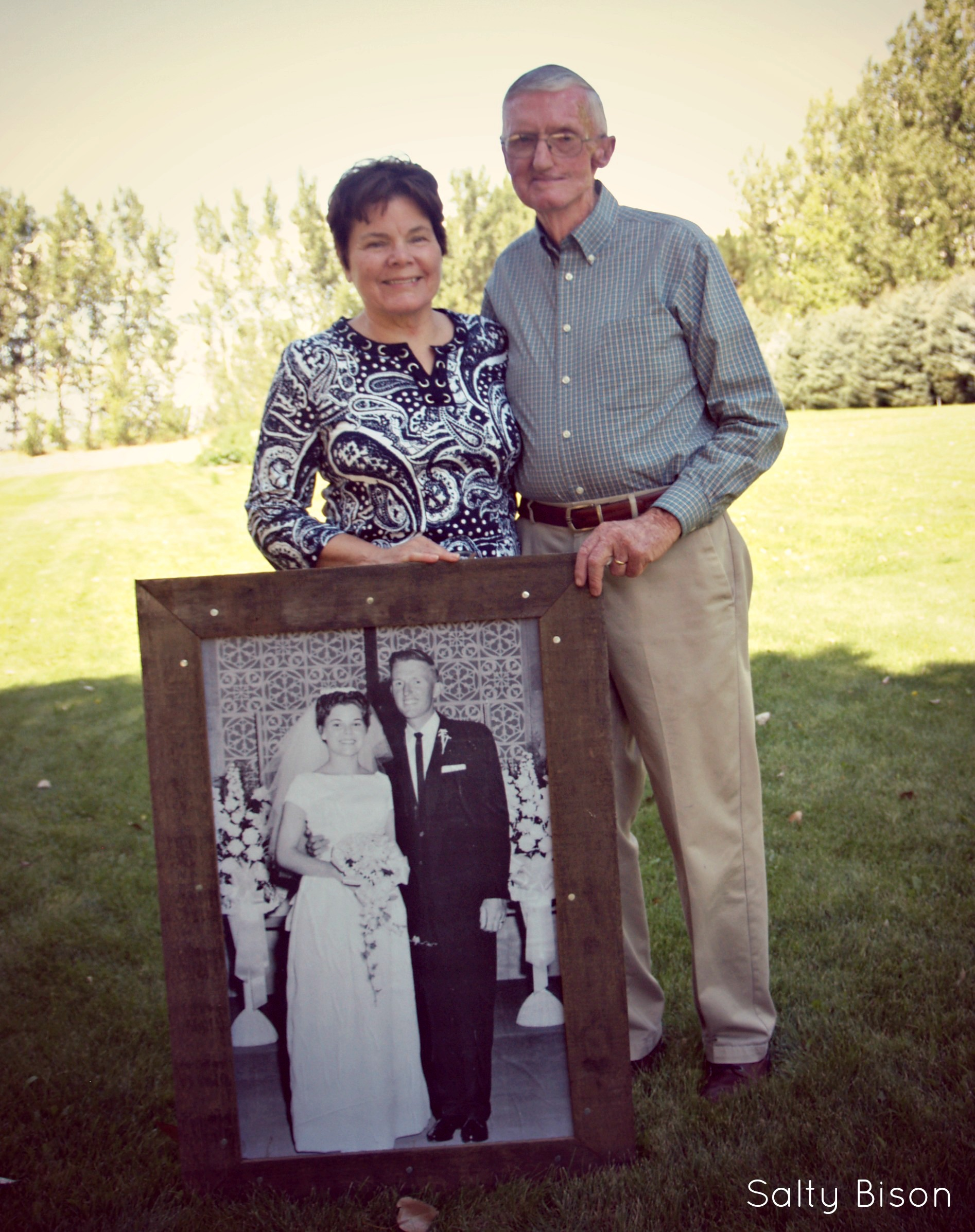 Ideas 50th Wedding Anniversary Gifts Parents : 50th anniversary engineer print