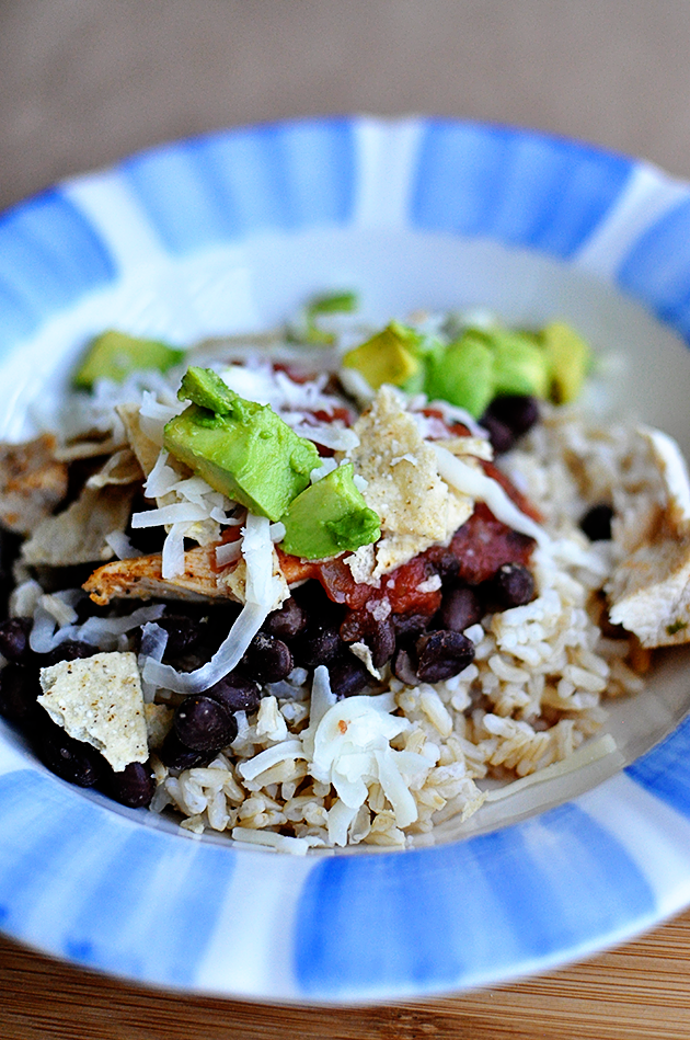 Healthy Dinner Ideas: Burrito Bowl