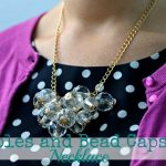 Baubles and Bead Caps Necklace DIY