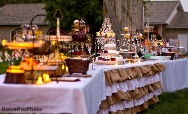 Wedding Sweet Tables Dessert Station Themes Tips Fruits: DIY 50th Wedding Anniversary Party From Salty Bison