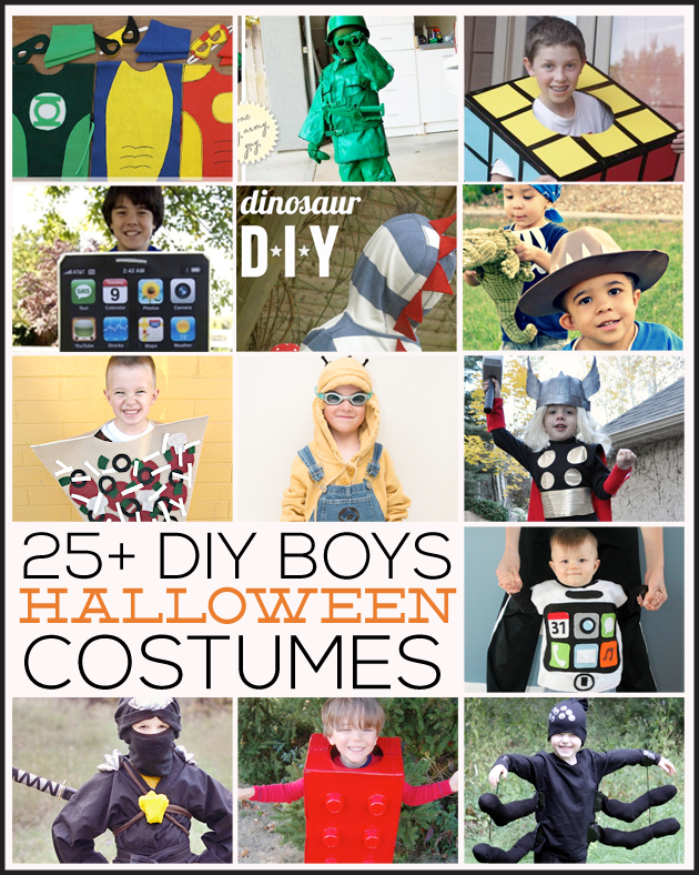 25 amazing diy family halloween costumes 25 diy boys halloween costumes featured on thirtyhandmadedays solutioingenieria Gallery