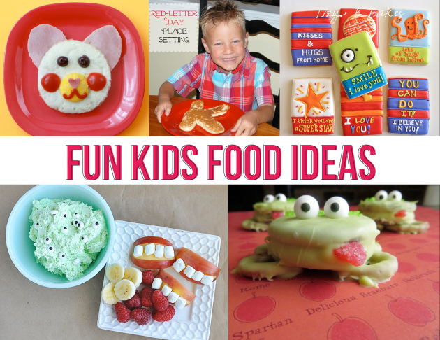Fun kids snack ideas featured on www.thirtyhandmadedays.com