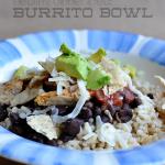 Dinner Ideas: Burrito Bowl
