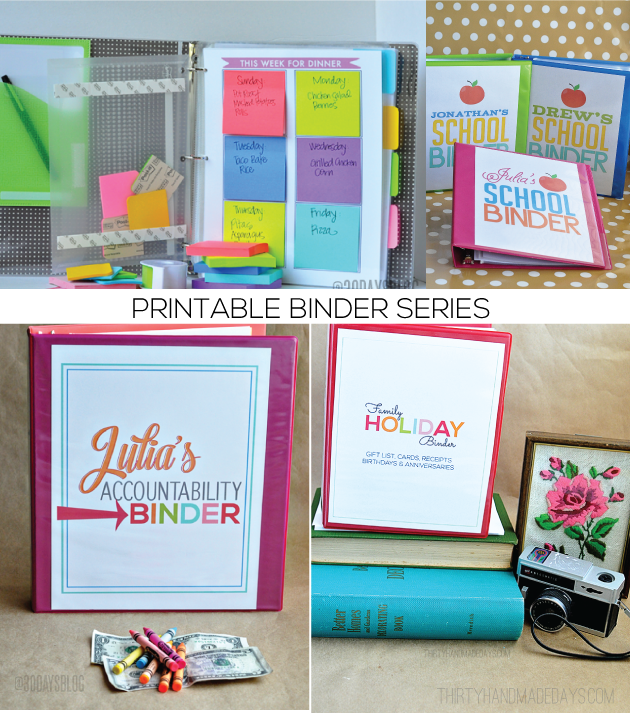 Cool Binder Cover Ideas Series From