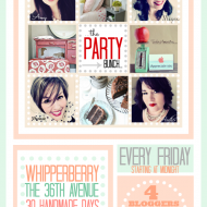 DIY and Recipe Link Up Party- Introducing The Party Bunch!