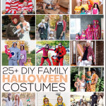 25+ DIY Family Halloween Costumes: amazing ideas that are inexpensive and fun for the whole family! Featured on www.thirtyhandmadedays.com