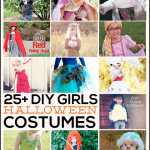 Simple and adorable DIY Halloween Costumes for Girls. Round up from www.thirtyhandmadedays.com