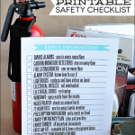 Fire Safety Printable for Your Family Binder