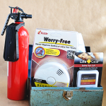 October is Fire Safety Month! Learn more to help protect your family. www.thirtyhandmadedays.com