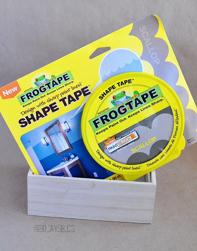 New Frog Tape® Shape Tape™ www.thirtyhandmadedays.com