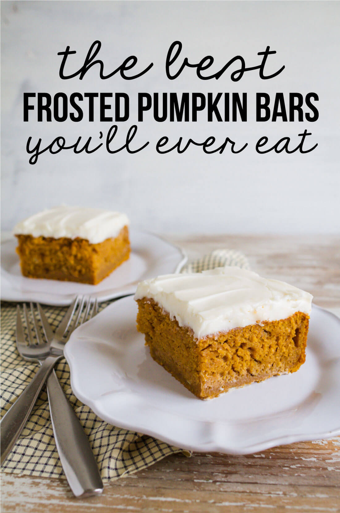the Best Pumpkin Bars you'll ever eat from www.thirtyhandmadedays.com