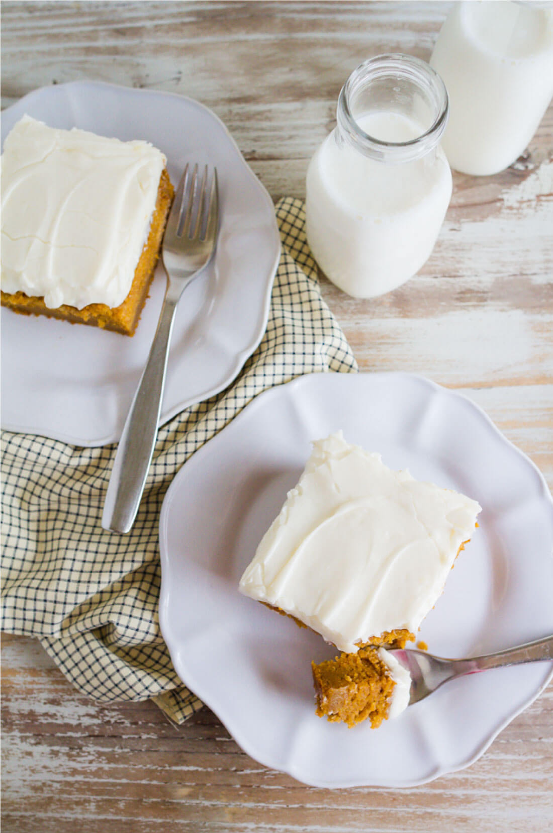 Best Pumpkin Bars With Cream Cheese Frosting www.thirtyhandmadedays.com