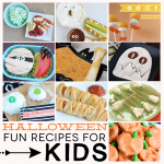 Fun Halloween Recipes for Kids - featuring breakfast, snacks, lunch, dinner and dessert ideas. All in one spot. www.thirtyhandmadedays.com