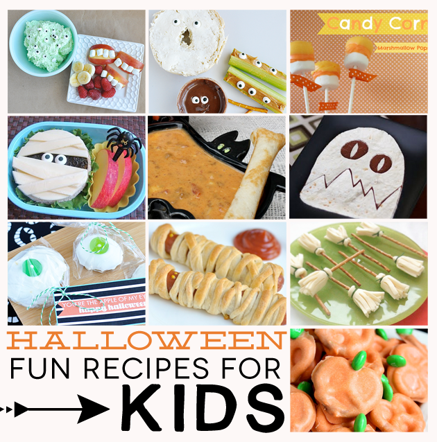 Halloween Dinner Recipes For Kids Fun halloween recipes for kids