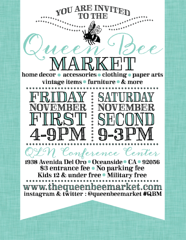 the Queen Bee Market www.thequeenbeemarket.com