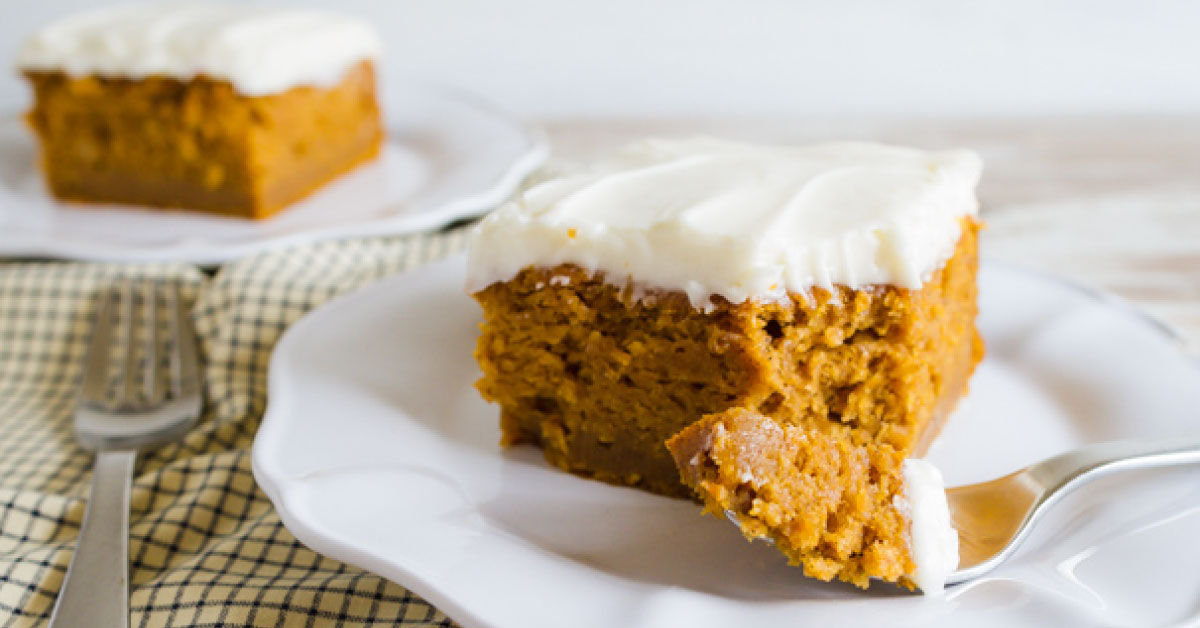Pumpkin Recipes The Best Frosted Pumpkin Bars Ever