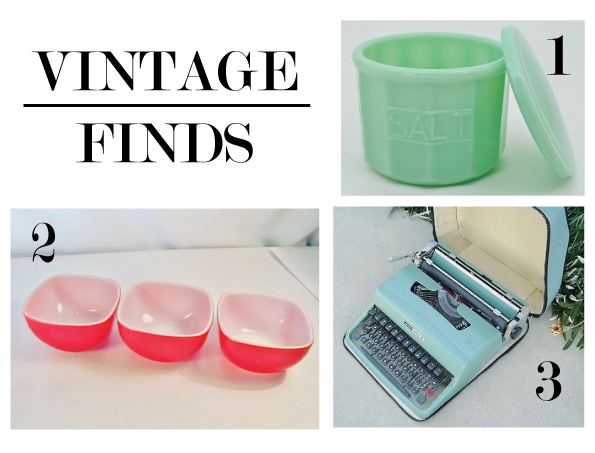 3 vintage finds that I love www.thirtyhandmadedays.com
