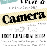 DSLR Camera Giveaway!