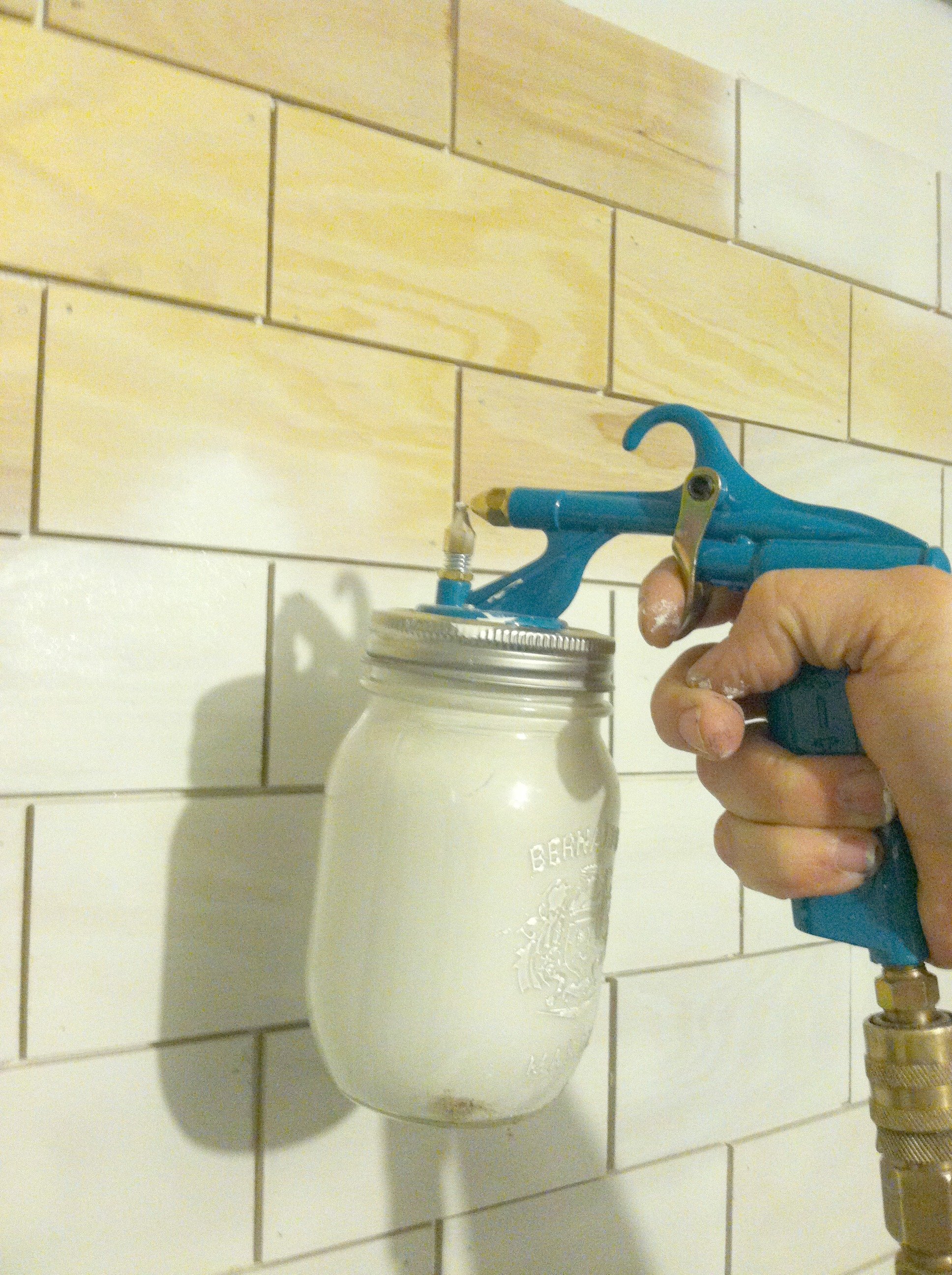 Spray Paint For Tiles In Bathroom