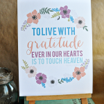 Printable Gratitude Quotes + Blog Hop