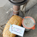 Holiday Gift Ideas- Bread, Honey Butter & a Printable Tag