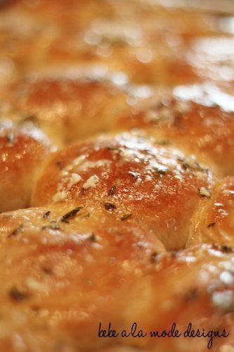 rolls baked