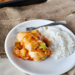 Easy & delicious main dish- Sweet & Sour Chicken www.thirtyhandmadedays.com
