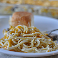 Easy Dinner Recipes: Turkey Tetrazzini (Chicken Spaghetti)
