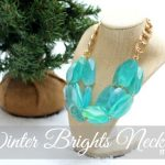 Winter Brights Necklace DIY - amazing tutorial from Allie of Miss Lovie available on www.thirtyhandmadedays.com