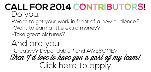 Call for contributors for 2014 from www.thirtyhandmadedays.com