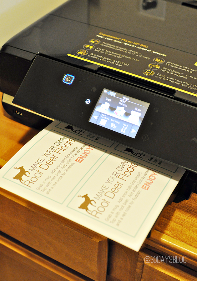 Epson XP-950 Small All-in-One Printer Review www.thirtyhandmadedays.com
