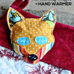 DIY Fox Stocking Stuffers + Hand Warmer www.thirtyhandmadedays.com
