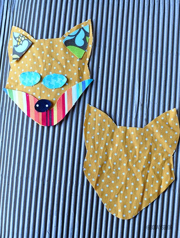 Fox Stocking Stuffers pieced together www.thirtyhandmadedays.com