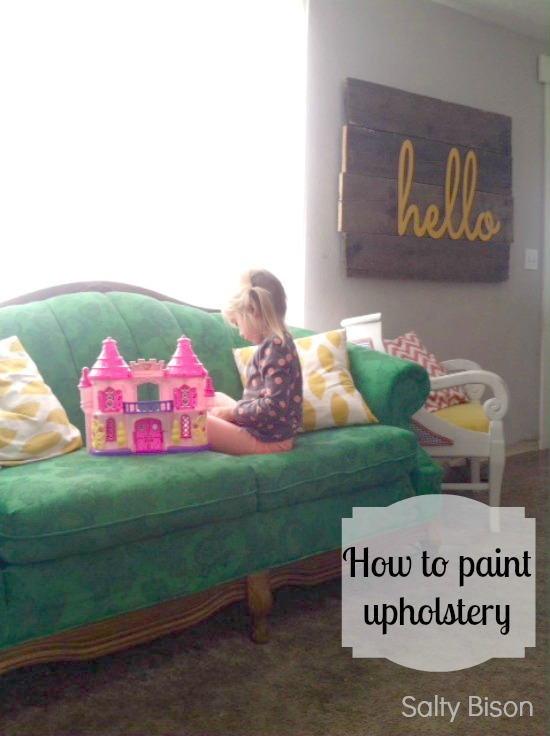 DIY painting upholstery - what to do and what not to do from Salty Bison via www.thirtyhandmadedays.com