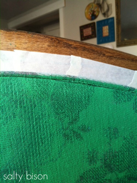 DIY painting upholstery - step 1