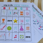 Printable New Year's Eve Activity Sheets for Kids - fun to ring in the new year www.thirtyhandmadedays.com