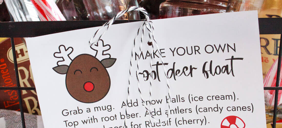 Root Beer Float for Christmas