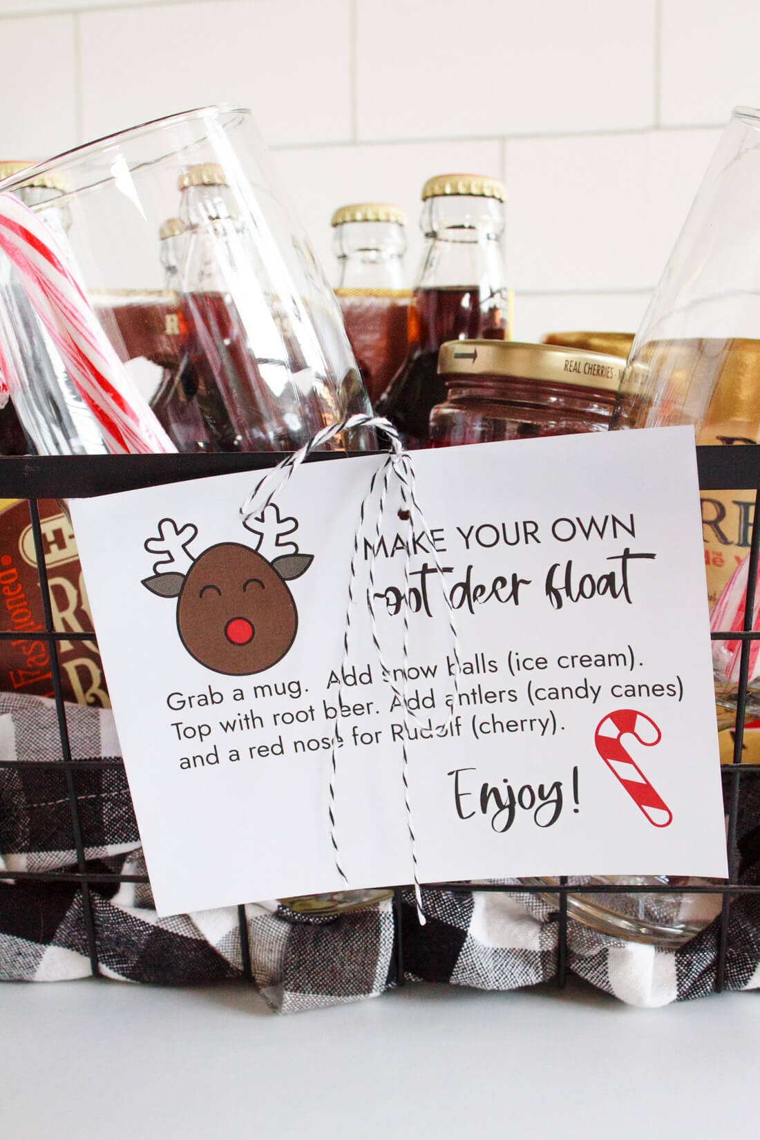 Root Beer Float Kit with Printable