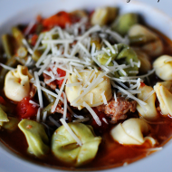 Slow Cooker Recipes: Tortellini Sausage Soup