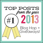 Top Posts from the Year 2013 from www.thirtyhandmadedays.com with $50 gift card giveaway