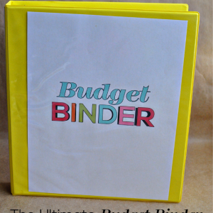 The Ultimate Budget Binder featuring 10+ printables from www.thirtyhandmadedays.com