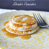 4 Ingredients Blender Pancakes