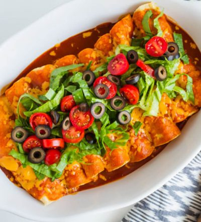 Easy Homemade Beef Enchiladas - a yummy main dish recipe that your whole family will love